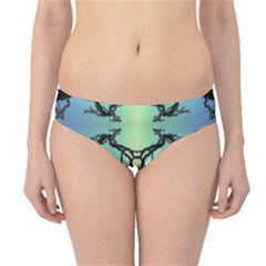 Branches With Diffuse Colour Background Hipster Bikini Bottoms