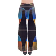 Black Cross With Color Map Fractal Image Of Black Cross With Color Map Pants