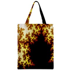 A Fractal Image Zipper Classic Tote Bag by Nexatart