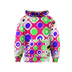 Color Ball Sphere With Color Dots Kids  Pullover Hoodie by Nexatart