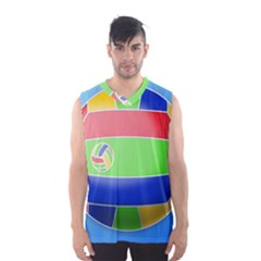 Balloon Volleyball Ball Sport Men s Basketball Tank Top