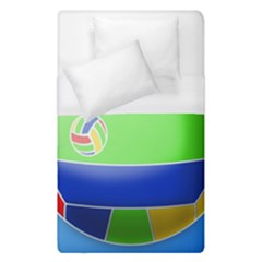 Balloon Volleyball Ball Sport Duvet Cover (single Size)