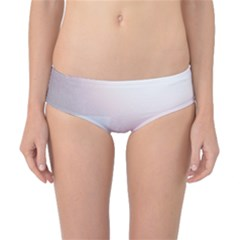 Winter Day Pink Mood Cottages Classic Bikini Bottoms