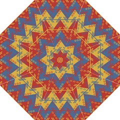 Aztec South American Pattern Zig Zag Straight Umbrellas