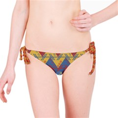 Aztec South American Pattern Zig Zag Bikini Bottom