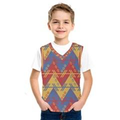 Aztec South American Pattern Zig Zag Kids  Sportswear