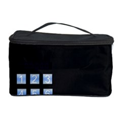 Safe Vault Strong Box Lock Safety Cosmetic Storage Case by Nexatart