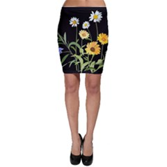 Flowers Of The Field Bodycon Skirt