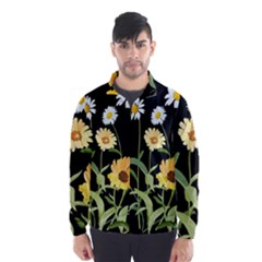 Flowers Of The Field Wind Breaker (men)