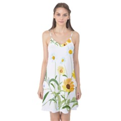 Flowers Flower Of The Field Camis Nightgown