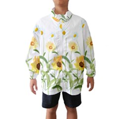 Flowers Flower Of The Field Wind Breaker (kids)