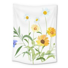 Flowers Flower Of The Field Medium Tapestry