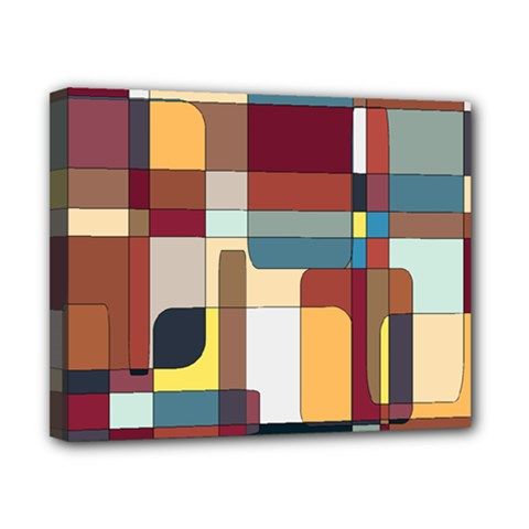Patchwork Canvas 10  X 8  by theunrulyartist