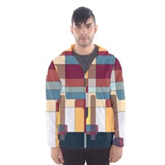 Patchwork Hooded Wind Breaker (men) by theunrulyartist
