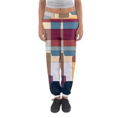 Patchwork Women s Jogger Sweatpants by theunrulyartist