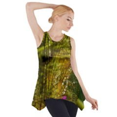 Dragonfly Dragonfly Wing Insect Side Drop Tank Tunic
