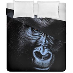 Gorilla Duvet Cover Double Side (california King Size) by Valentinaart