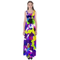 Classic New York City Empire Waist Maxi Dress by BIBILOVER