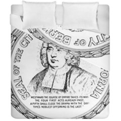 Seal Of Berkeley, California Duvet Cover Double Side (california King Size) by abbeyz71