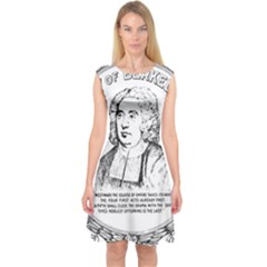 Seal Of Berkeley, California Capsleeve Midi Dress by abbeyz71