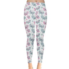 Cute Pastel Butterflies Leggings  by tarastyle