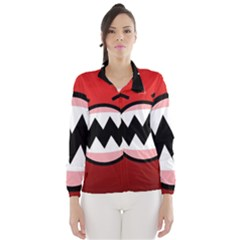 Funny Angry Wind Breaker (Women) by Gogogo