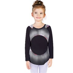 Solar Eclipse Kids  Long Sleeve Tee