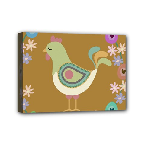 Easter Mini Canvas 7  X 5  by Valentinaart