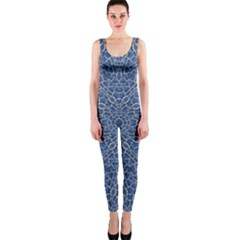 Intricate Geometric Print Onepiece Catsuit by dflcprintsclothing