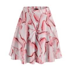 Intricate Texture Pattern High Waist Skirt by dflcprintsclothing