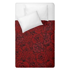Red Roses Field Duvet Cover Double Side (single Size)