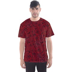 Red Roses Field Men s Sport Mesh Tee