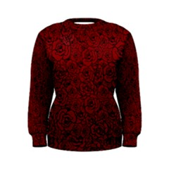 Red Roses Field Women s Sweatshirt