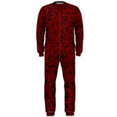 Red Roses Field Onepiece Jumpsuit (men)