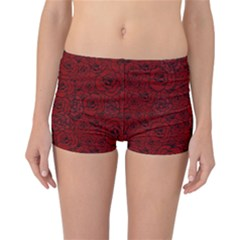 Red Roses Field Reversible Bikini Bottoms