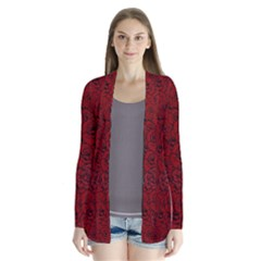 Red Roses Field Cardigans