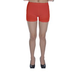 Trendy Basics   Trend Color Flame Skinny Shorts by tarastyle