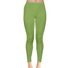 Trendy Basics   Trend Color Greenery Leggings  by tarastyle
