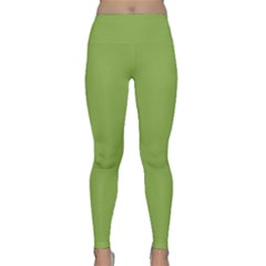 Trendy Basics   Trend Color Greenery Classic Yoga Leggings by tarastyle