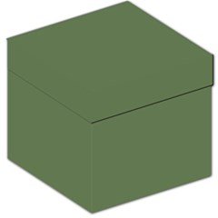 Trendy Basics   Trend Color Kale Storage Stool 12   by tarastyle