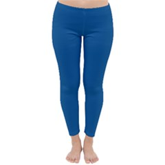Trendy Basics   Trend Color Lapis Blue Classic Winter Leggings by tarastyle
