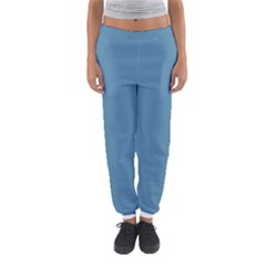 Trendy Basics   Trend Color Niagara Women s Jogger Sweatpants by tarastyle