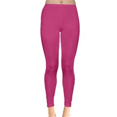 Trendy Basics   Trend Color Pink Yarrow Leggings  by tarastyle