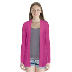 Trendy Basics   Trend Color Pink Yarrow Cardigans by tarastyle