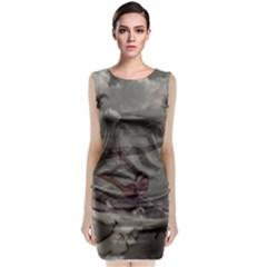 Snowflake Classic Sleeveless Midi Dress