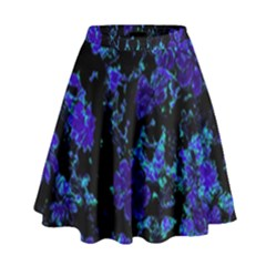 Floral Dreams 12 B High Waist Skirt by MoreColorsinLife