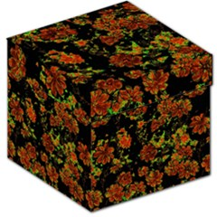 Floral Dreams 12 C Storage Stool 12   by MoreColorsinLife