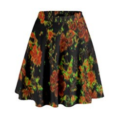 Floral Dreams 12 C High Waist Skirt