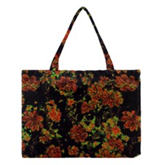 Floral Dreams 12 C Medium Tote Bag by MoreColorsinLife