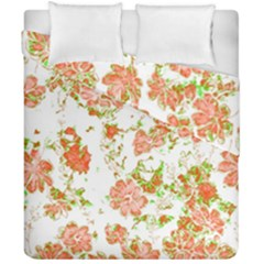 Floral Dreams 12 D Duvet Cover Double Side (California King Size)
